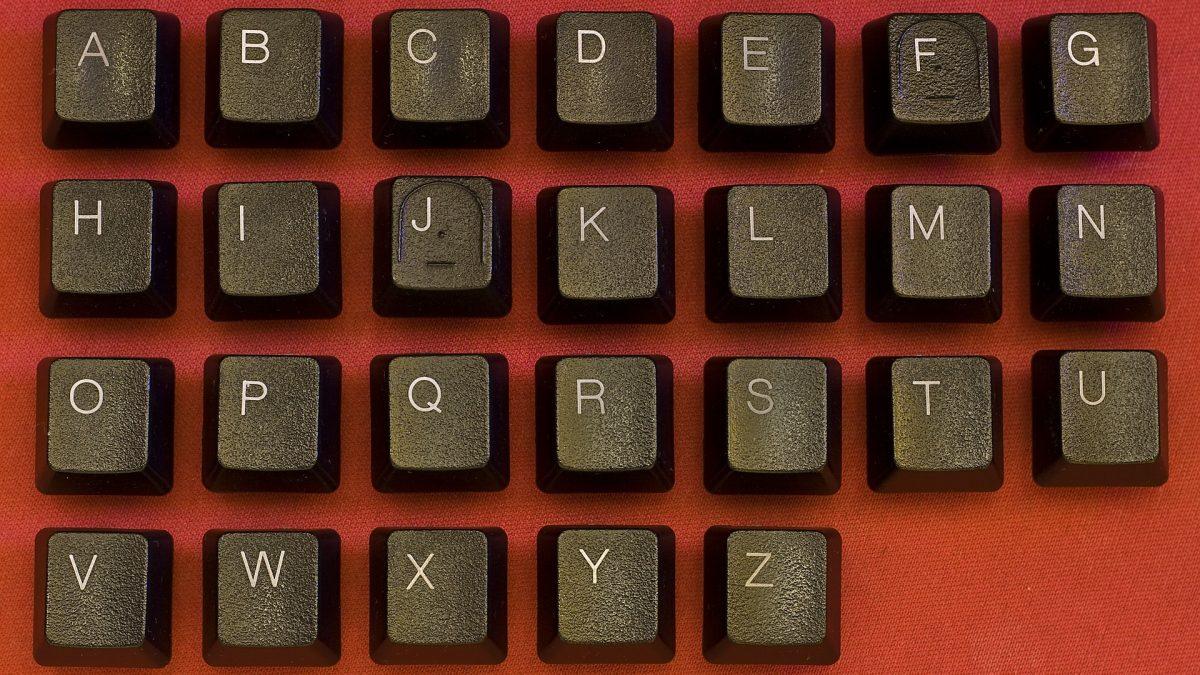 Taper l'alphabet le plus vite possible au clavier !
