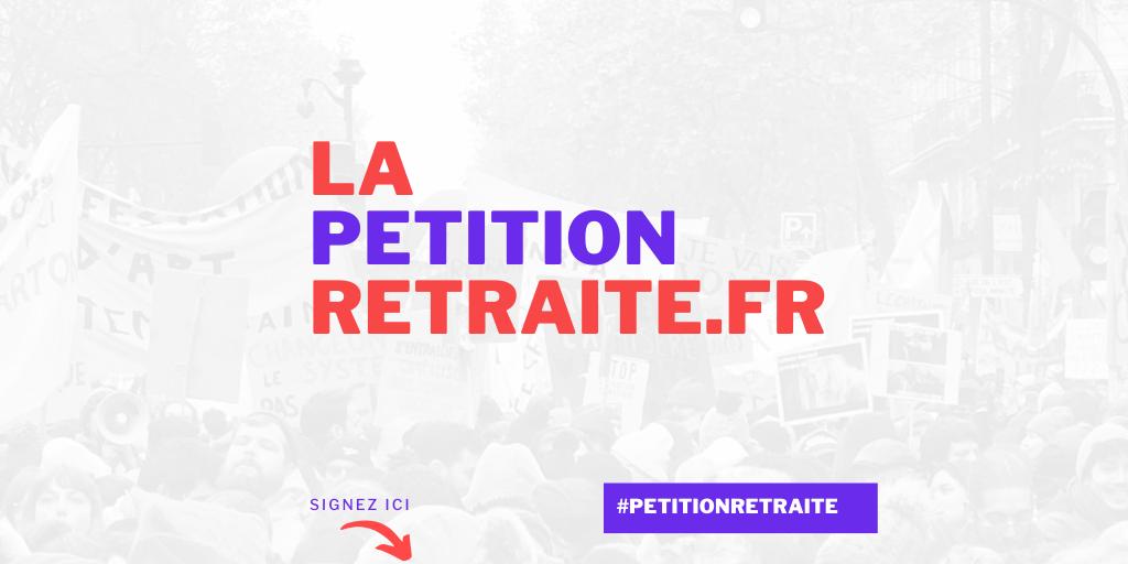 La Pétition retraite : une pétition sur Internet contre la réforme des retraites