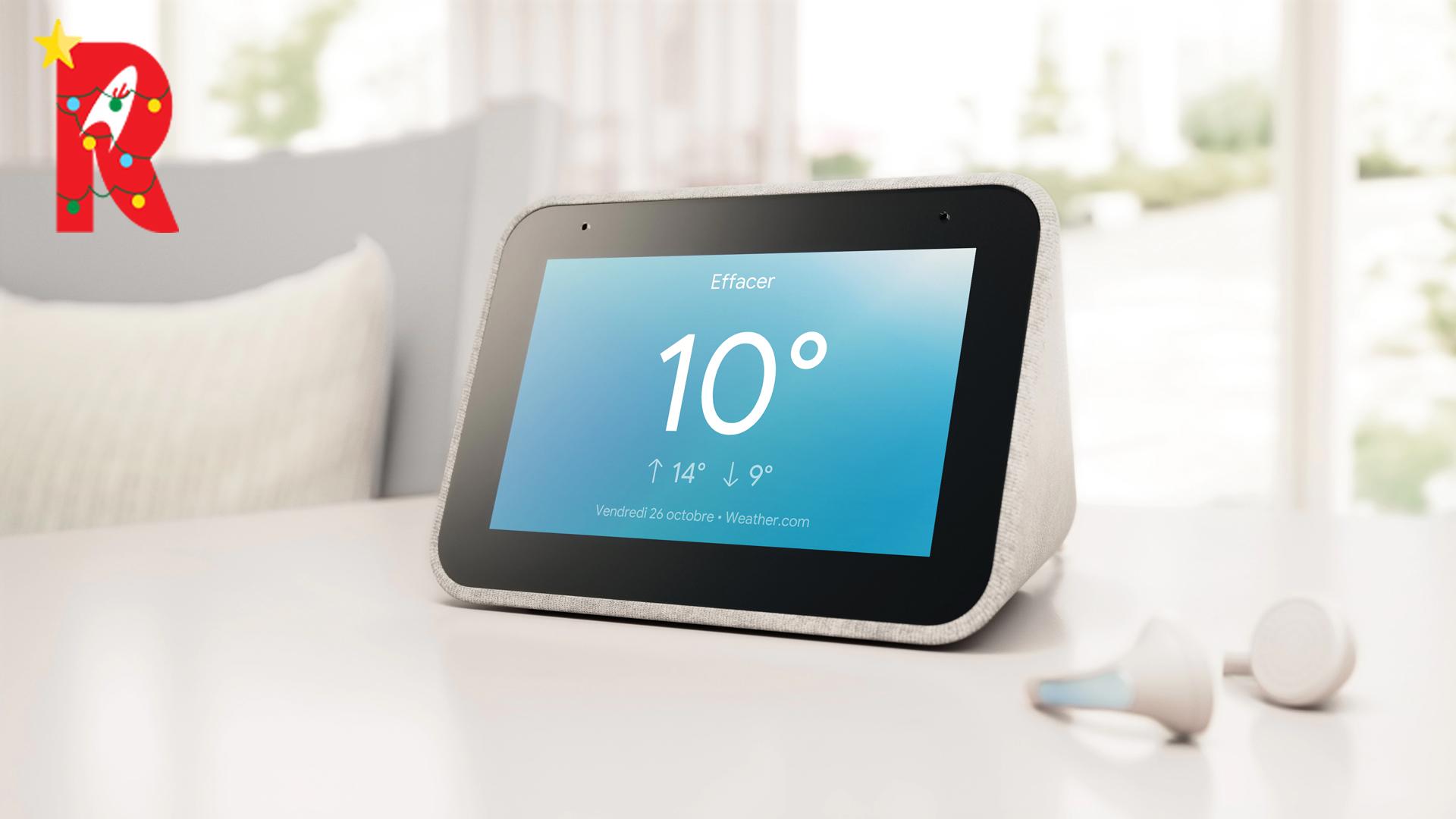 Lenovo Smart Clock : un réveil connecté avec Google Assistant