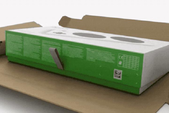 Joueurs handicapés : packaging de manette Xbox facile à déballer !