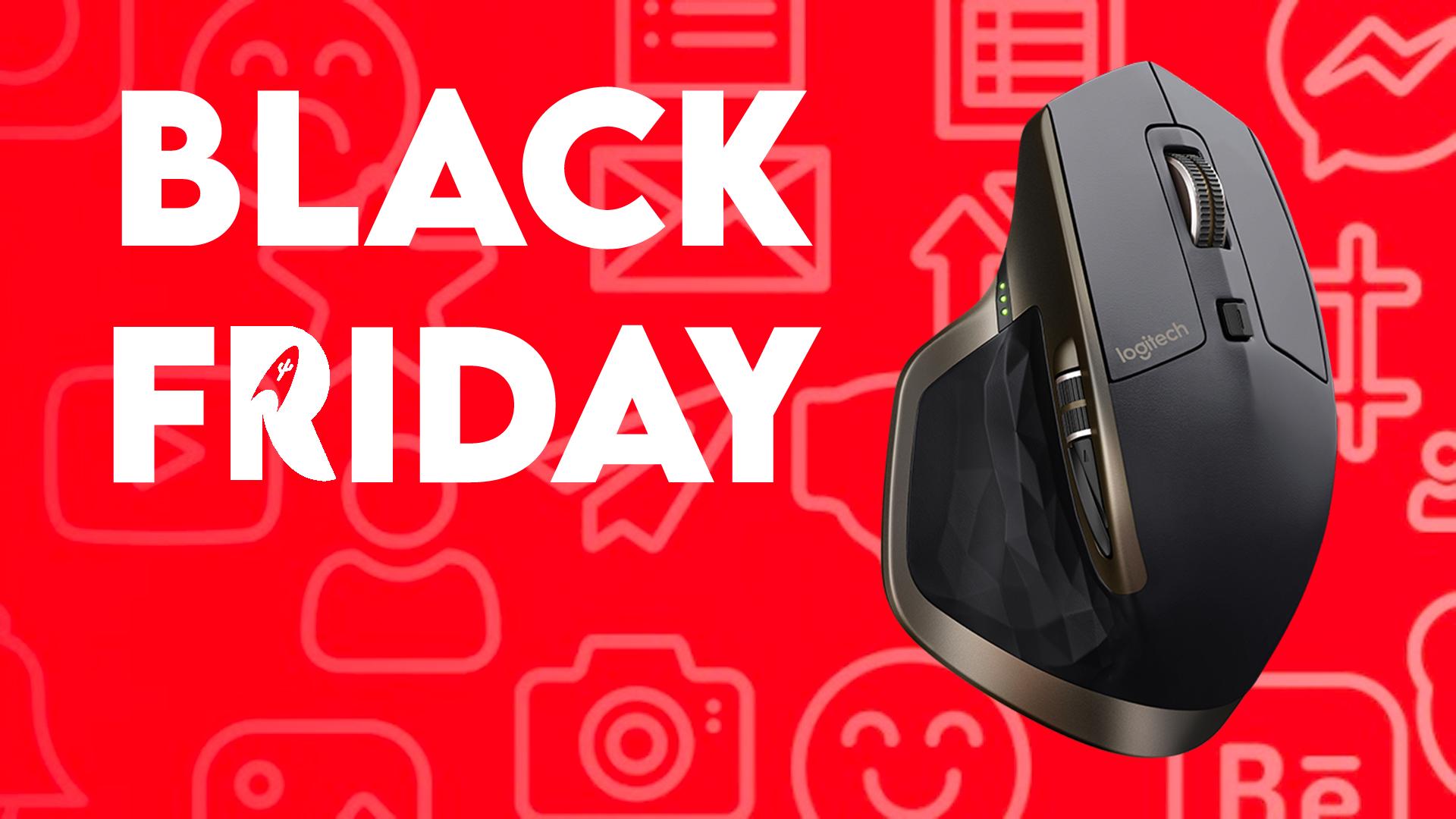 La MX Master de Logitech à 43€ pendant le Black Friday 2020 !