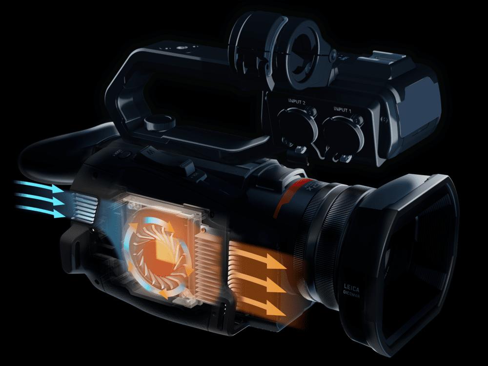 ventilateur caméscope