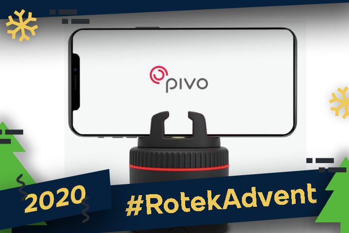 Pivo : un trépied intelligent pour smartphones !