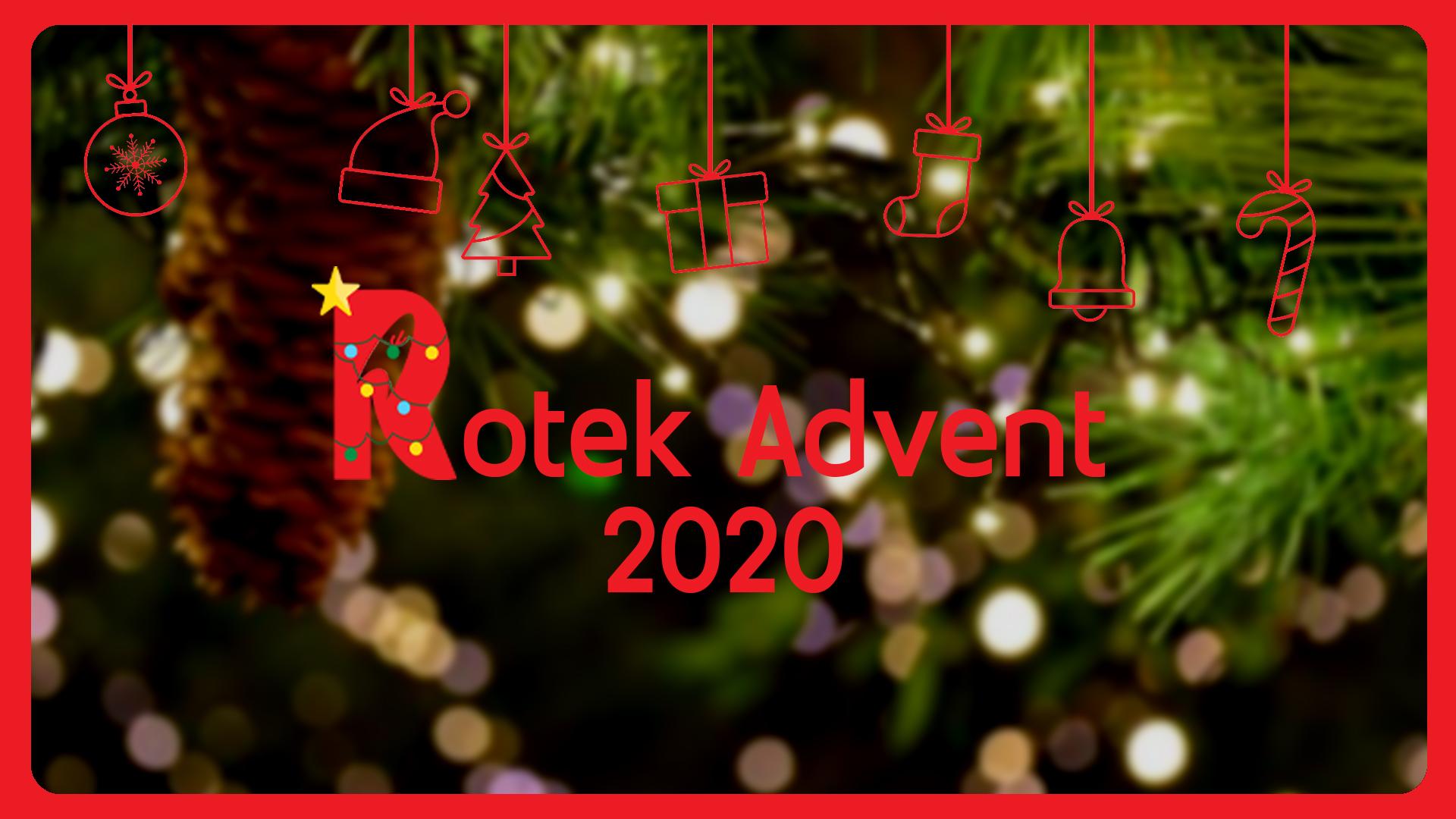 Le RotekAdvent 2020, c'est maintenant ! 🚀
