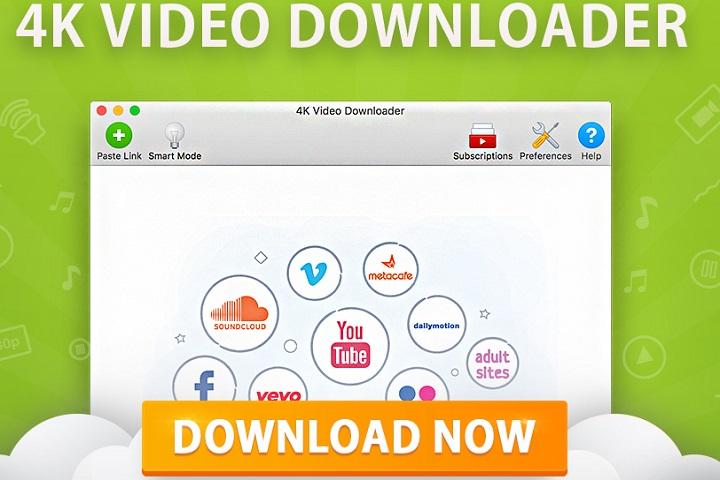 Télécharger des vidéos : 4K Video Downloader