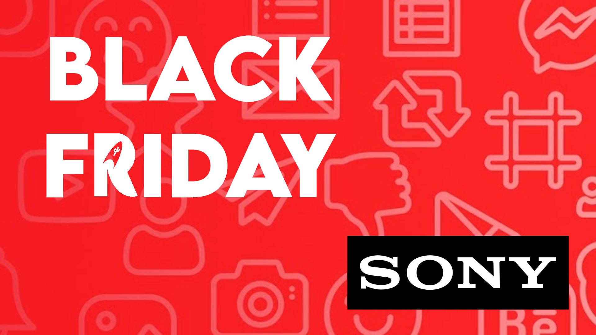 BLACK FRIDAY 2020 : les offres promotionnelles de Sony