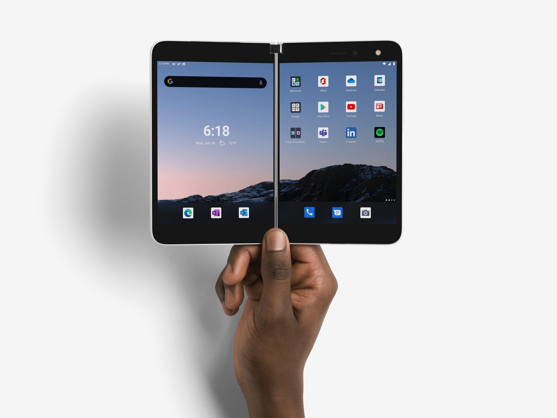 Surface Duo : le nouveau smartphone de Microsoft est disponible en France !