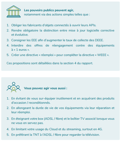 solutions pollution numérique
