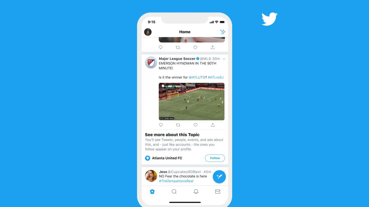Topics : le fonctionnement des sujets Twitter expliqué